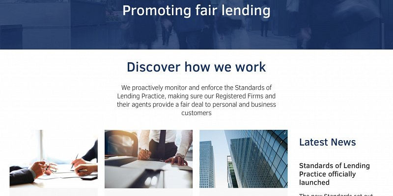 Lending Standards Board goes live